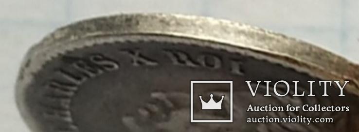 Монета 1/4 франка, 1828 года., фото №6
