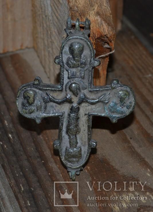 Рельефный энколпион Купятицкая Богородица, XII в., фото №9