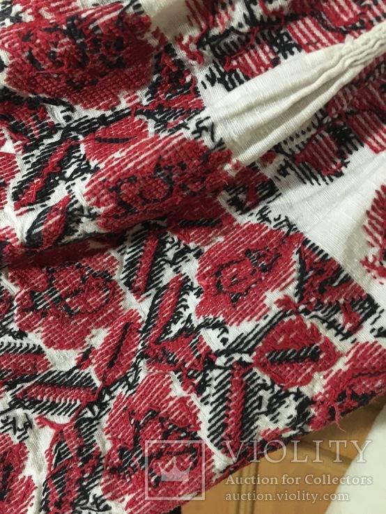 Вышиванка, платье и рушник 50 - 60 годов, фото №6