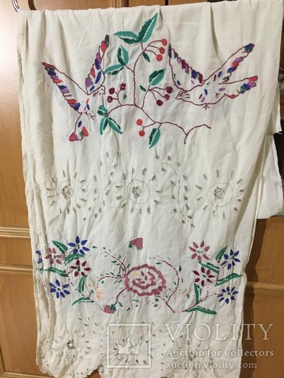Вышиванка, платье и рушник 50 - 60 годов, фото №8