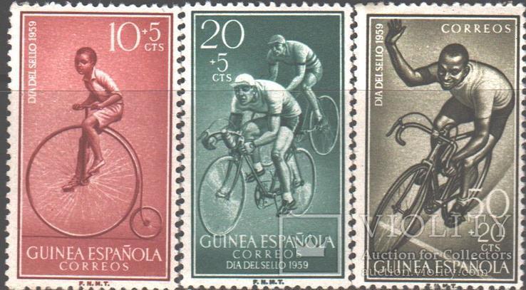 Испанская Гвинея. 1958. Велосипед **.