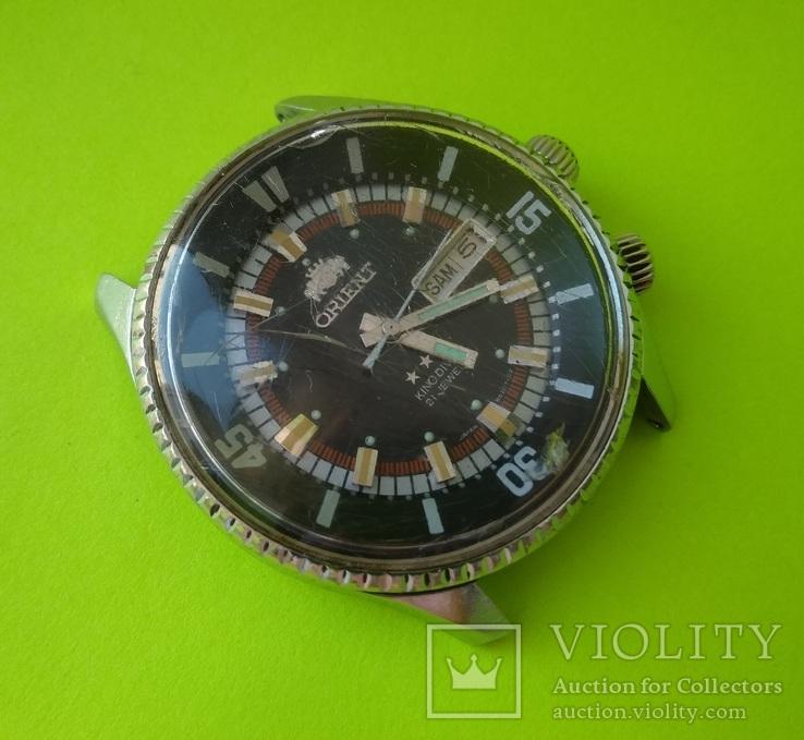 Часы. Ориент / Orient. King diver - на ходу, фото №5