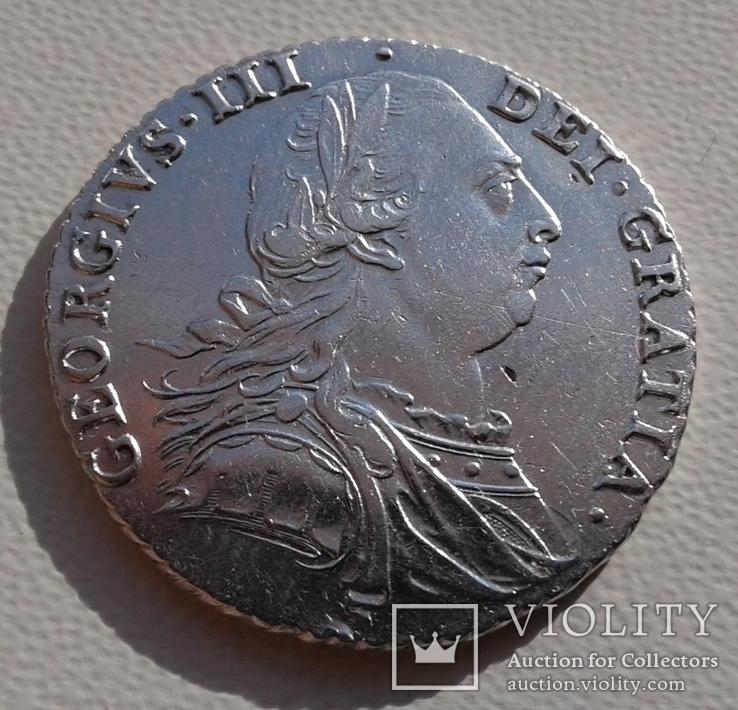 Великобритания 1 шиллинг 1787г. George III. UNC.