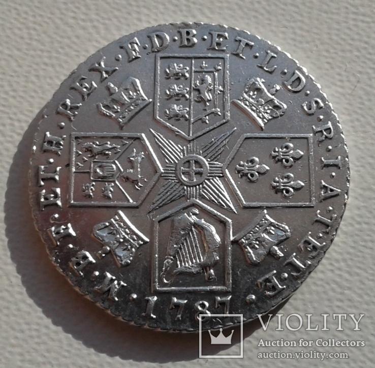Великобритания 1 шиллинг 1787г. George III. UNC., фото №11