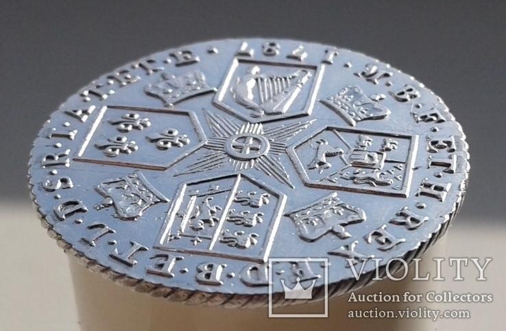 Великобритания 1 шиллинг 1787г. George III. UNC., фото №12