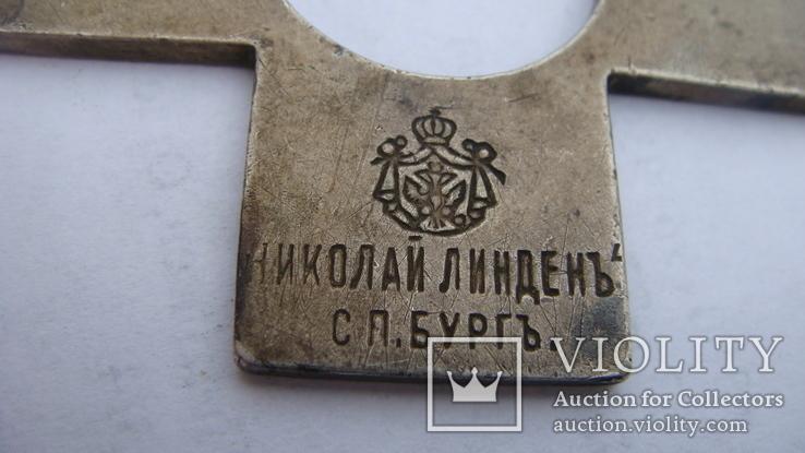 Знак Камчатского православного братства, серебро 84 пр, Линден, фото №3