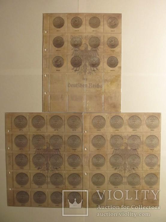 Альбом-каталог для разменных монет Веймарской Республики 1919-1938гг, фото №6