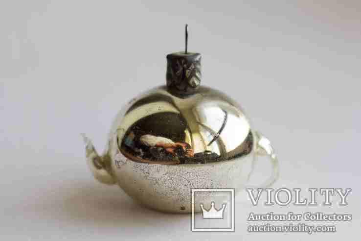 Елочная игрушка Чайник, фото №2