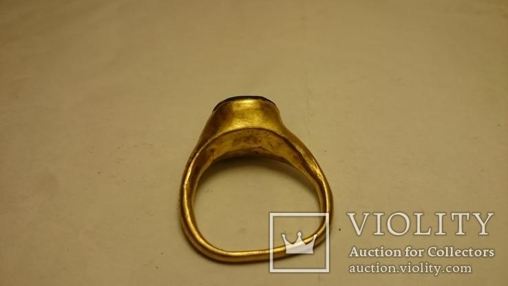 Золотой перстень Хазары конец 8 в.- начало 10 века, фото №10