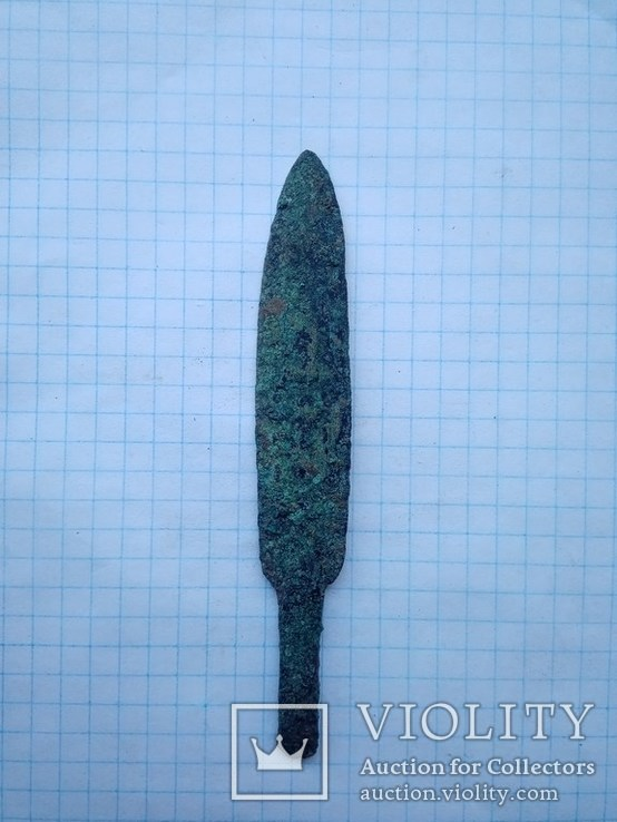 Кинжал бронзовый век.