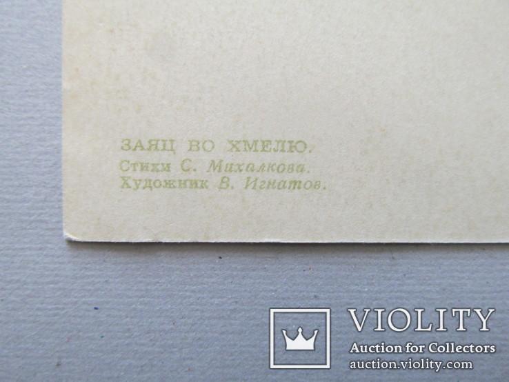 СССР, Заяц во хмелю. 1956 г., художник Игнатов, фото №9