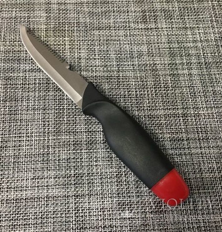 Нож-поплавок подводный с ножнами защелкой,нож рыбацкий АК-24 26см, фото №3