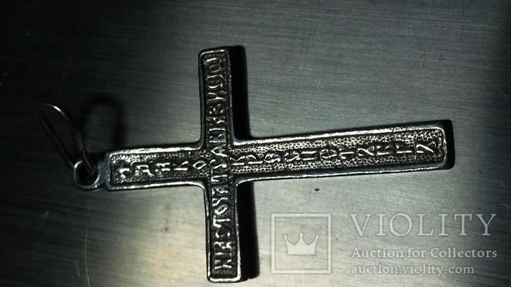 Крестик 925пр., фото №4