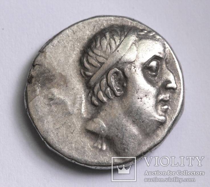 Каппадокійське царство, срібна драхма Аріобарзана I Філоромея, м.Євсебія, 67-65 до н.е.