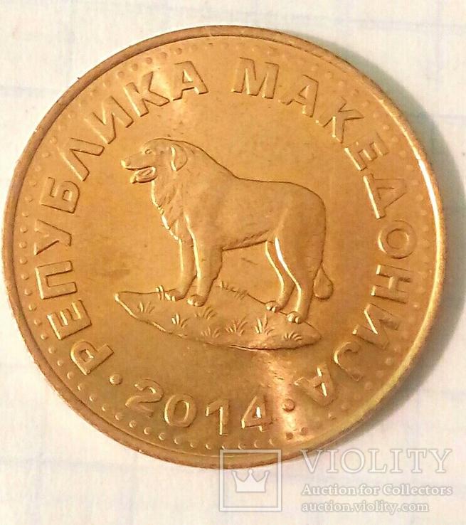 Четыре монеты Республики Северная Македония с представителями фауны., фото №8
