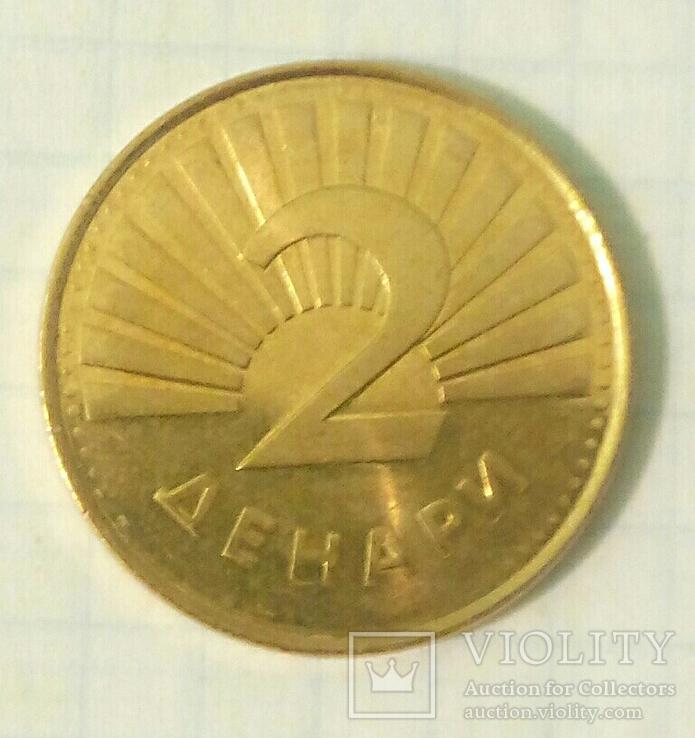 Четыре монеты Республики Северная Македония с представителями фауны., фото №9