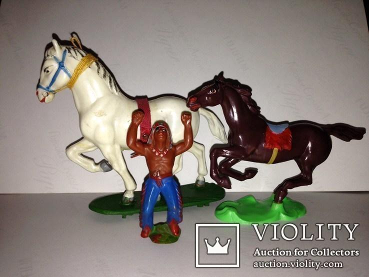 Индейцы, ковбои, лошади ГДР., фото №2