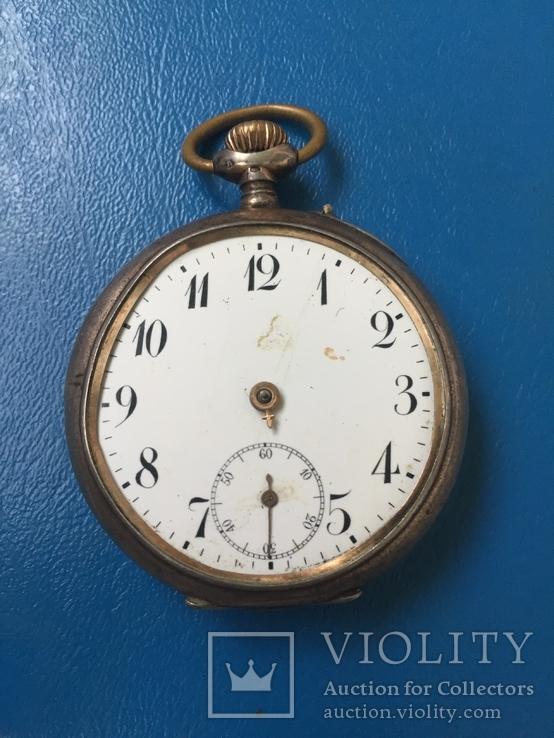 Часы карманные Серебро 800