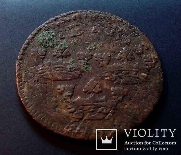 Швеция 1 эре оре 1719 год., фото №4