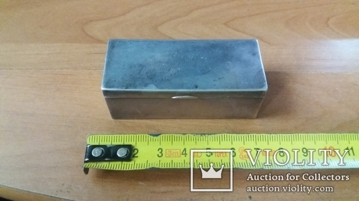 Коробочка 84 проба. 60грамм., фото №3