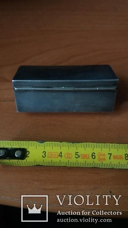 Коробочка 84 проба. 60грамм., фото №5