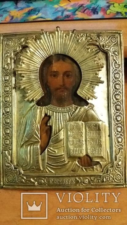 Икона Спасителя  18см на 22см, фото №7