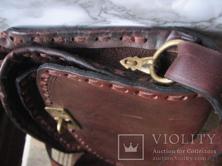 Ягдташ.сумка охотника.кожа.ручная работа(1), фото №12