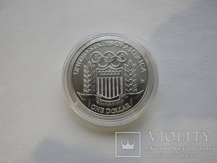 США один доллар 1992 год, фото №4