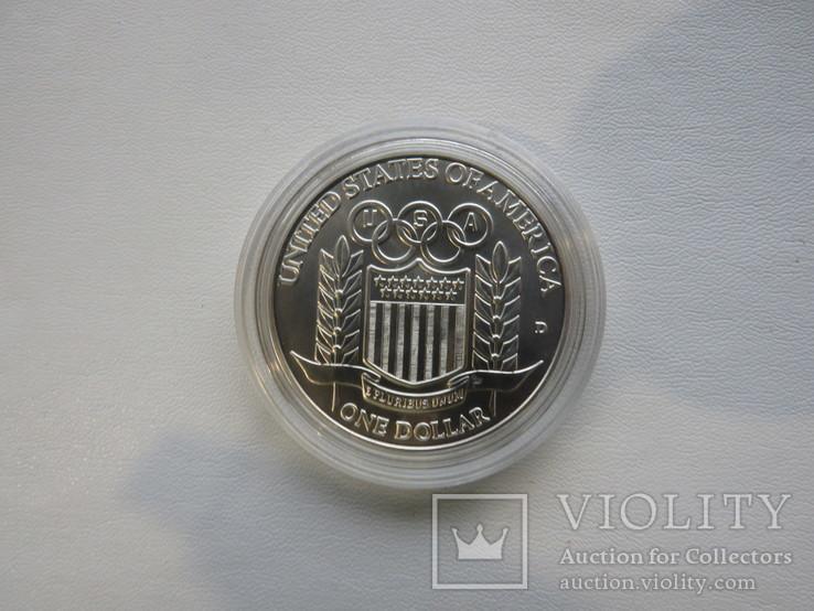 США один доллар 1992 год, фото №5