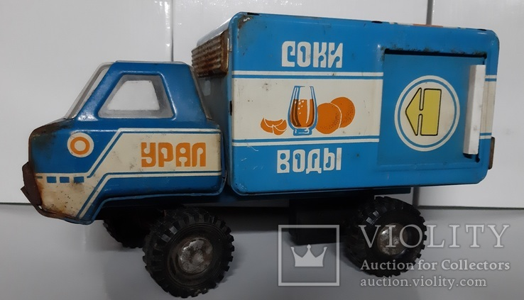 """Грузовик Урал""""Соки-Воды"""", фото №2"""