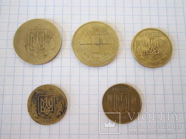 Монеты Украины (с браками), фото №2