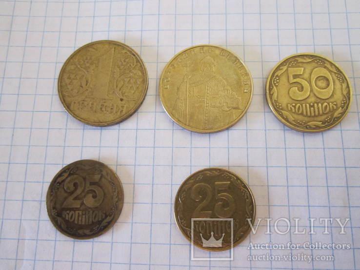 Монеты Украины (с браками), фото №8