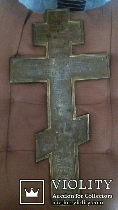 Крест 36см. Две эмали, фото №6