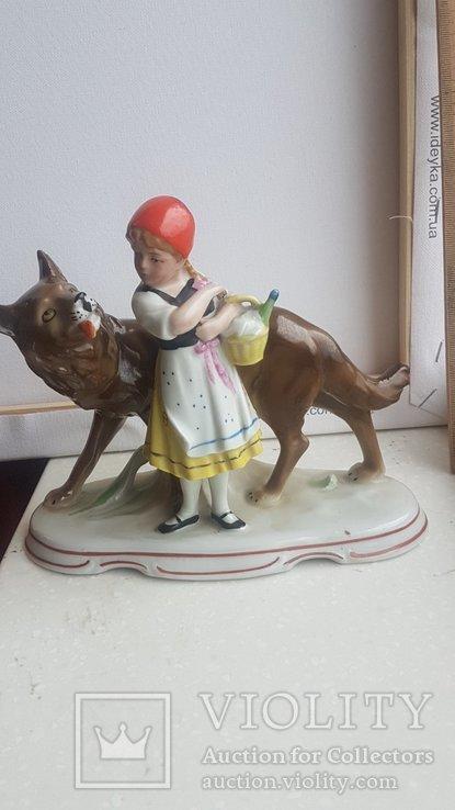 Статуэтка Красная шапочка и волк Германия, фото №3