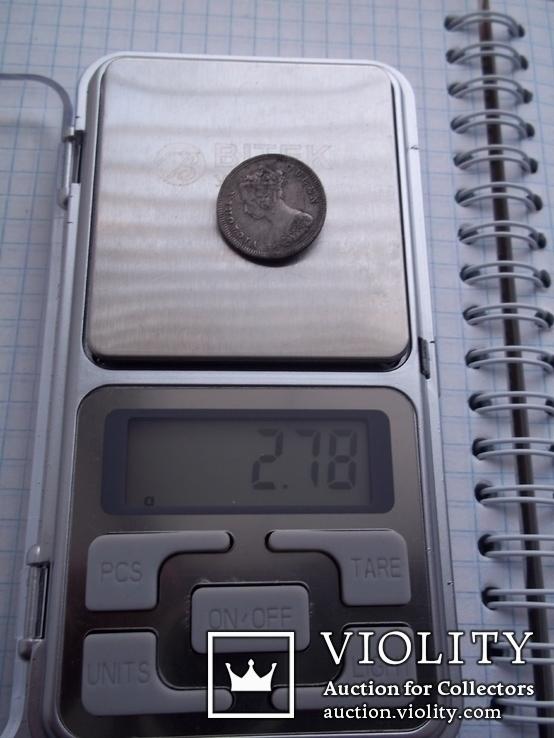 10 центов 1891 г, фото №2