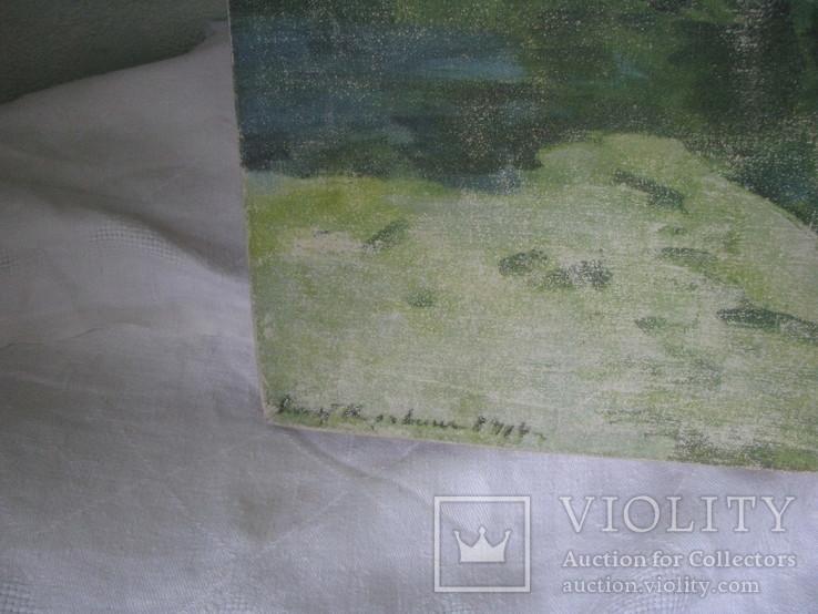 Пейзаж  печать на холсте с подрамником., фото №3