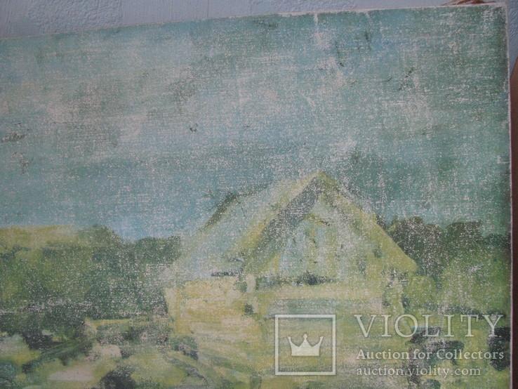 Пейзаж  печать на холсте с подрамником., фото №4