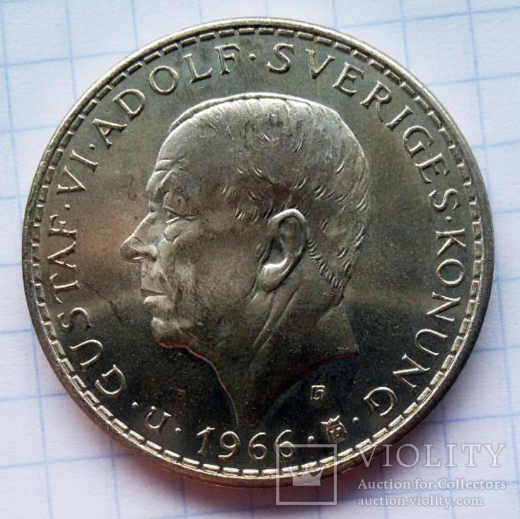 Густав VI Адольф, 1950-1973, фото №2