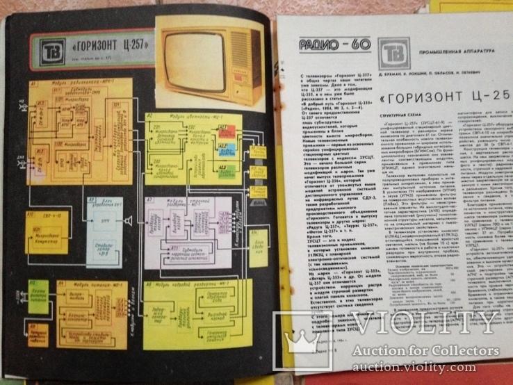 Журнал  Радио 1984  11 номеров. Нет № 9., фото №8