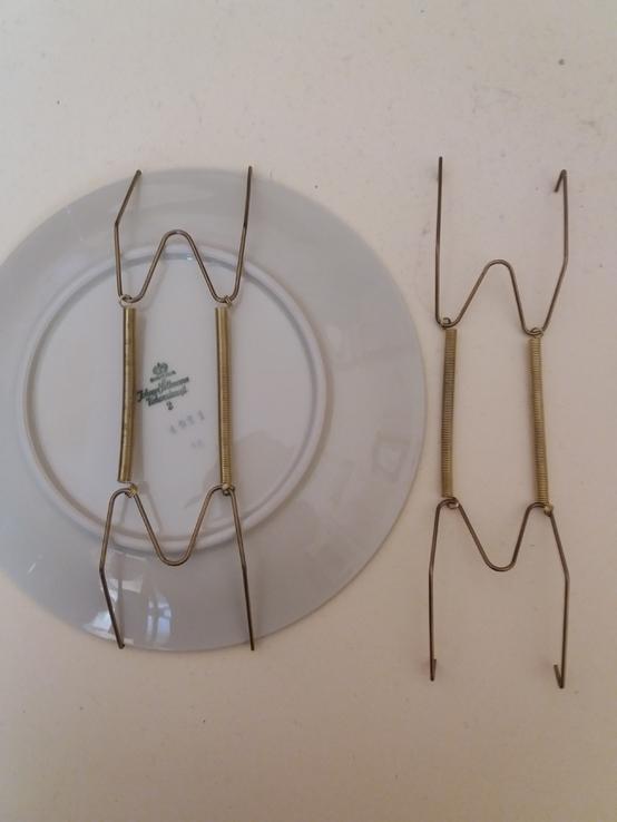 Держатели для настенных тарелок 2шт. 19-34см, фото №5