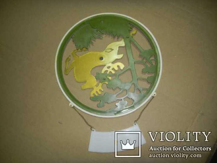 Барельеф панно олень сувенир настенный Крым СССР, фото №4