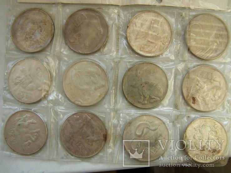 Копии монет со знаками зодиака, фото №4