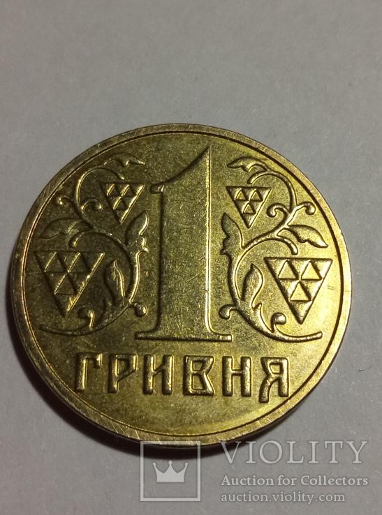 1 гривна 2003 в штемпельном блеске, фото №2