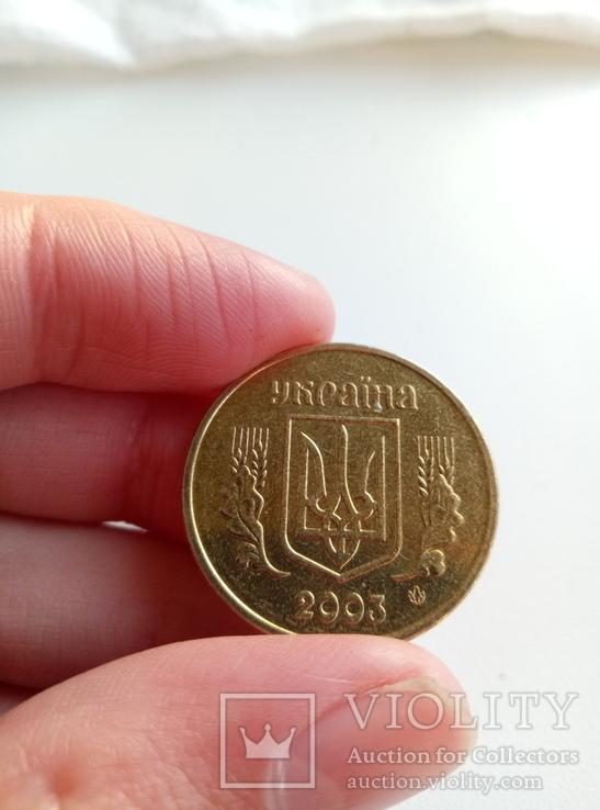 1 гривна 2003 в штемпельном блеске, фото №5