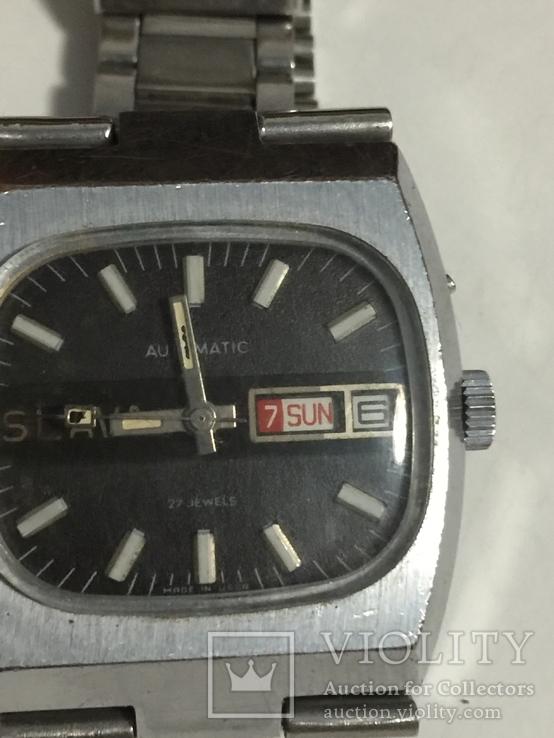 Часы слава с автоподзавод За Службу 88г хром, фото №4