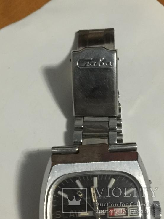 Часы слава с автоподзавод За Службу 88г хром, фото №7
