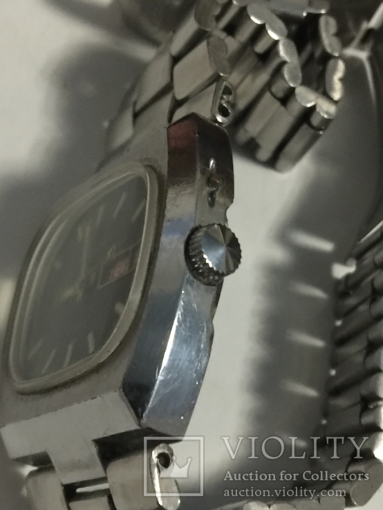 Часы слава с автоподзавод За Службу 88г хром, фото №10