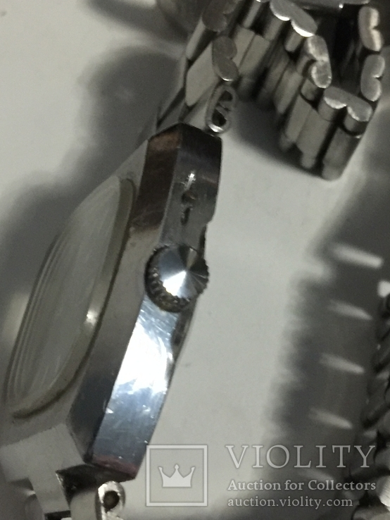 Часы слава с автоподзавод За Службу 88г хром, фото №12