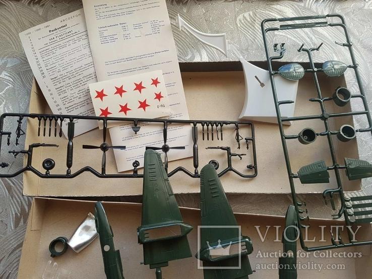 Самолет ТУ-2, 1:72, ГДР, фото №5