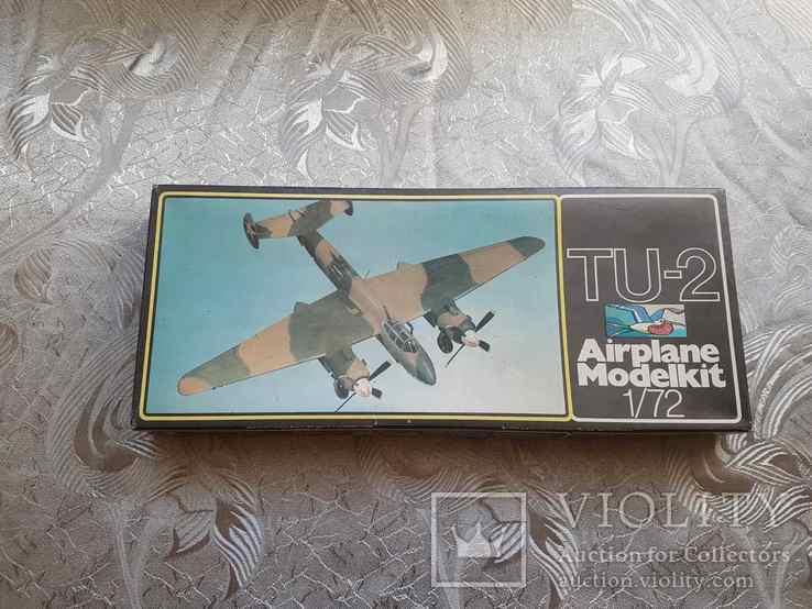 Самолет ТУ-2, 1:72, ГДР, фото №2